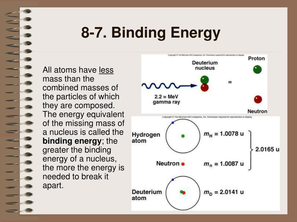 8-7. Binding Energy
