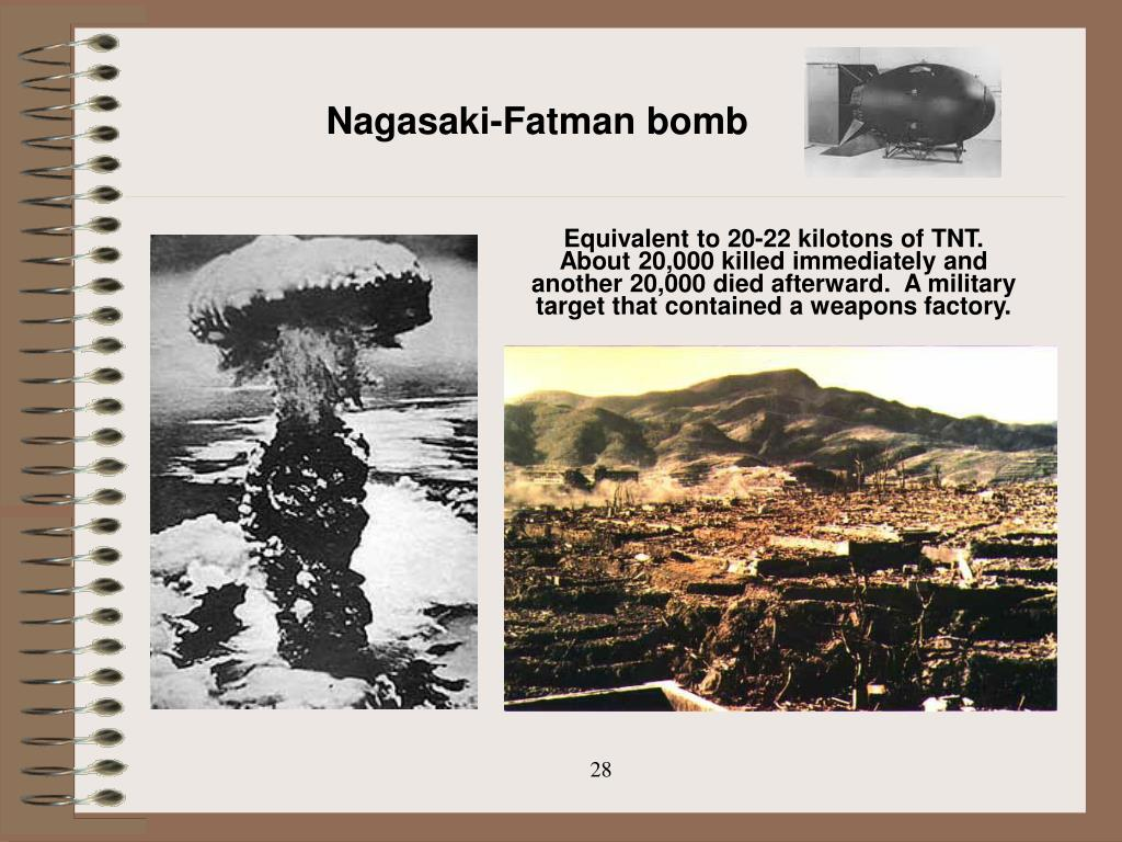 Nagasaki-Fatman bomb