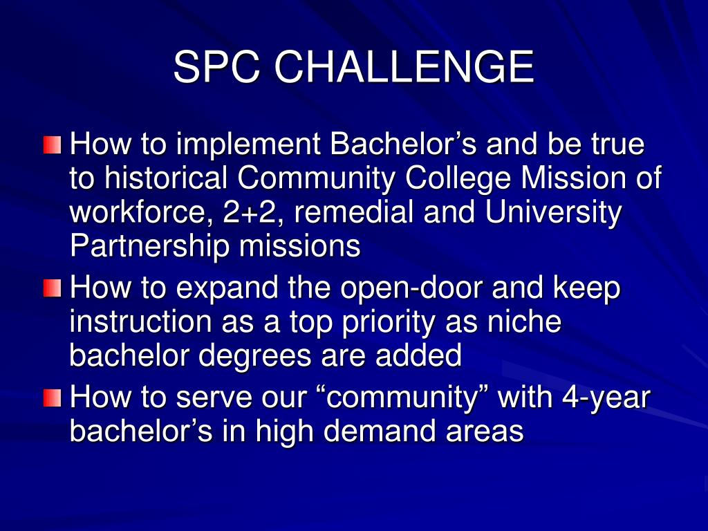 SPC CHALLENGE