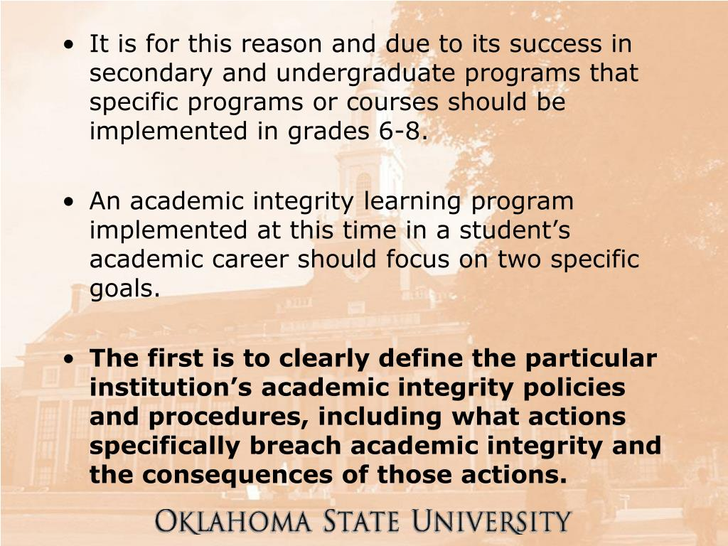 It is for this reason and due to its success in secondary and undergraduate programs that specific programs or courses should be implemented in grades 6-8.