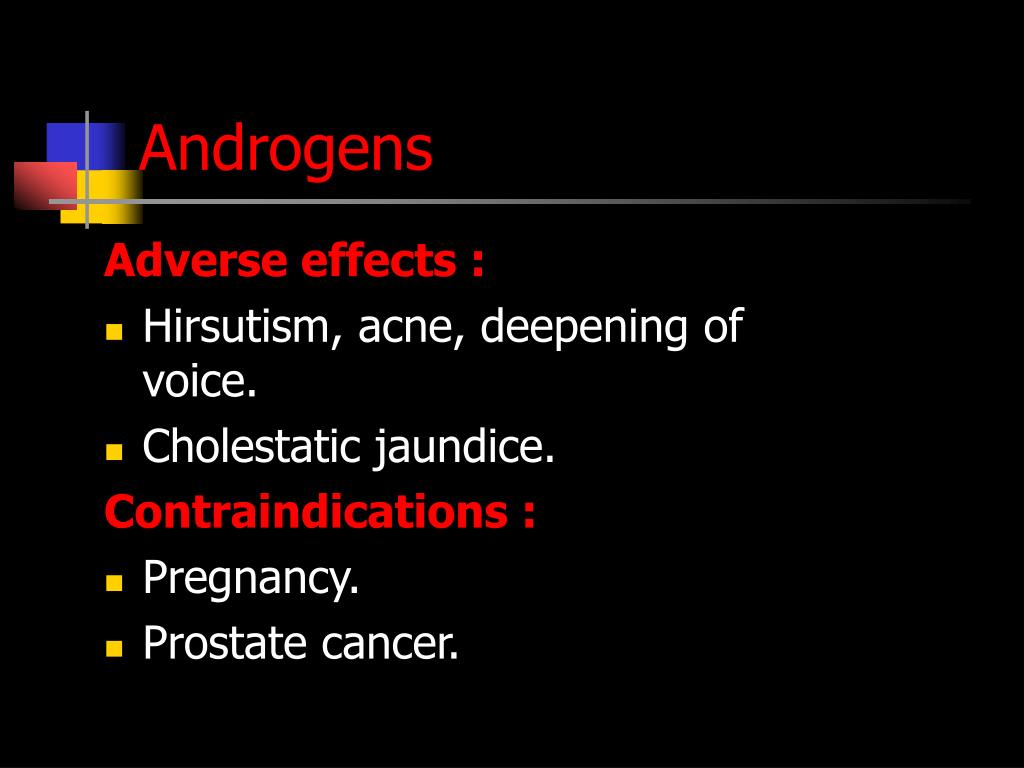 Androgens