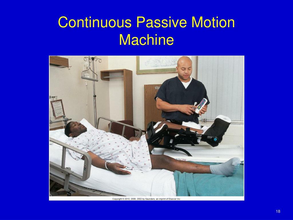 continous passive motion machine