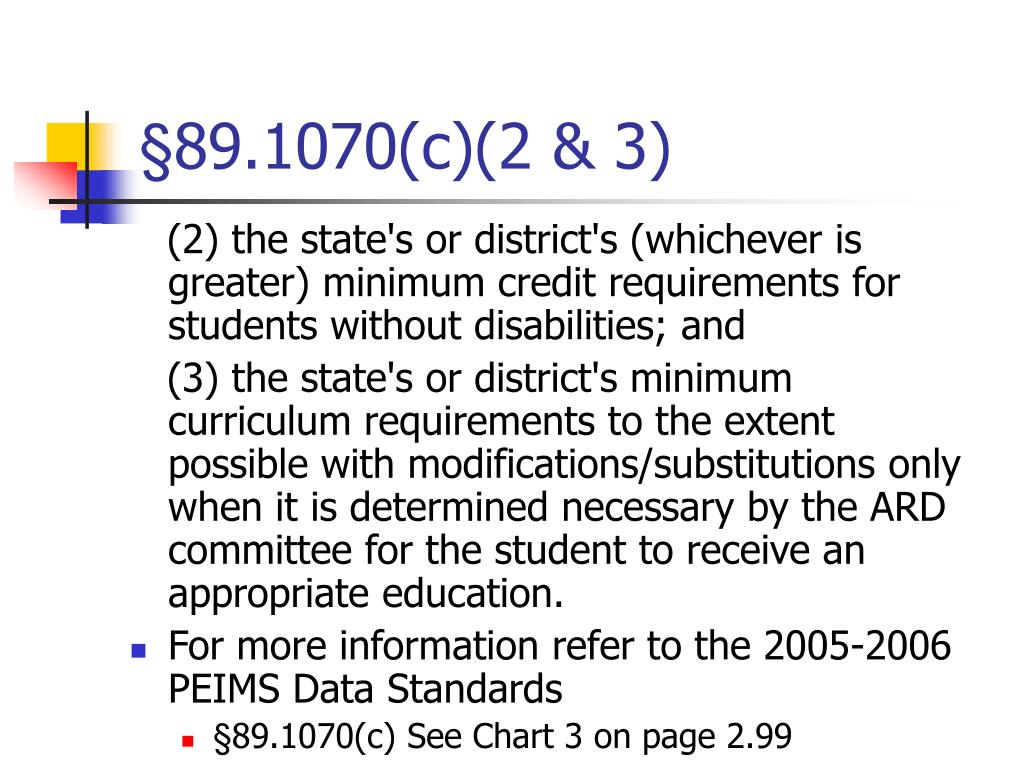 §89.1070(c)(2 & 3)