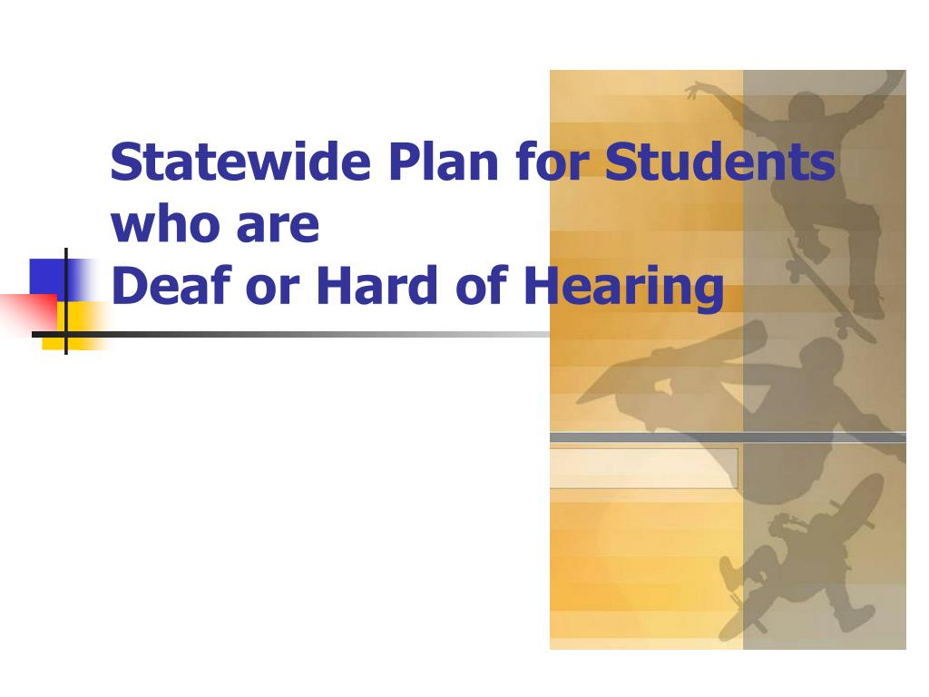 Statewide Plan for Students