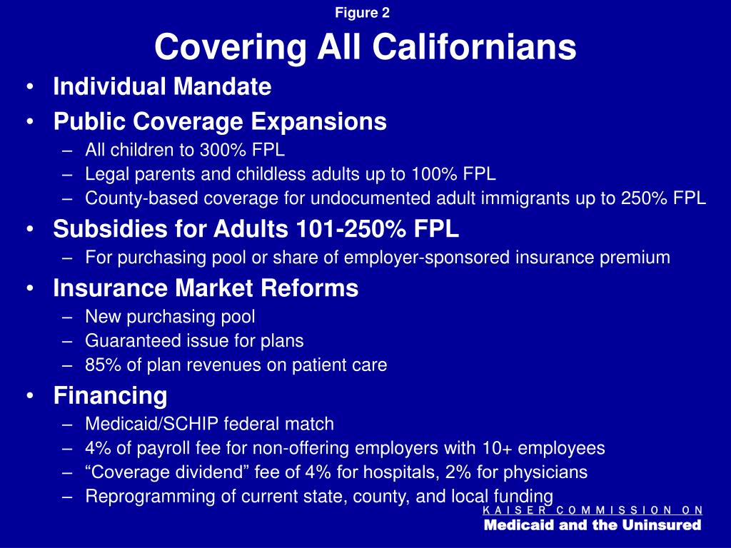 Covering All Californians