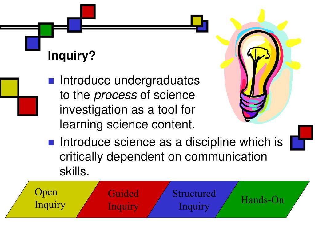 Inquiry?