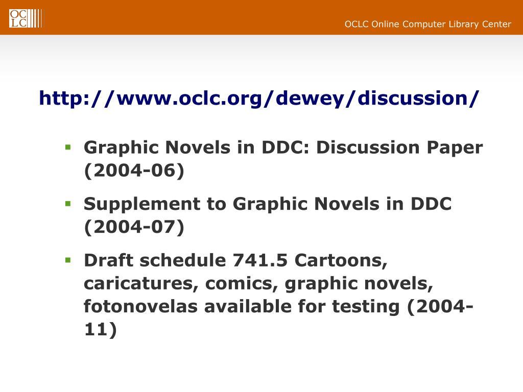 http://www.oclc.org/dewey/discussion/