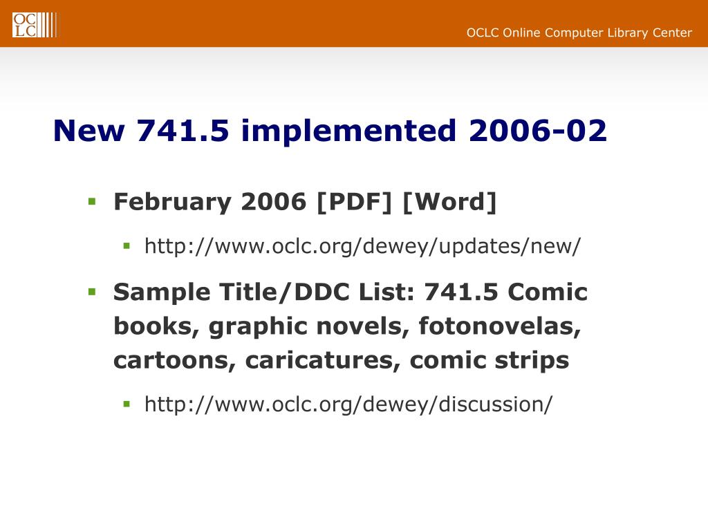 New 741.5 implemented 2006-02