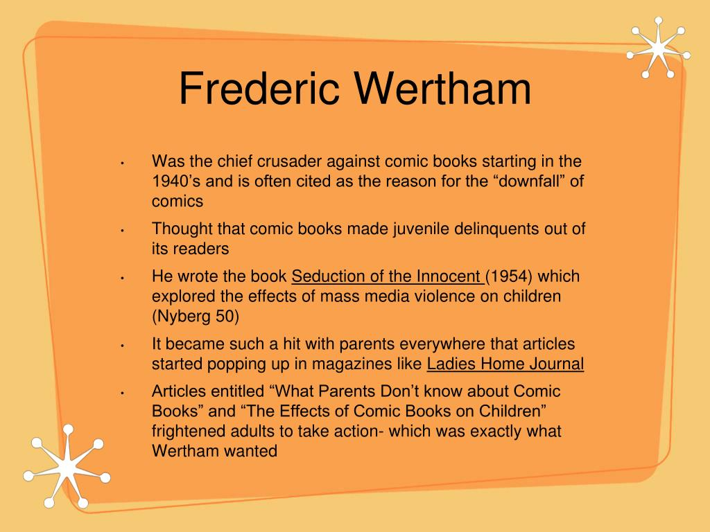 Frederic Wertham