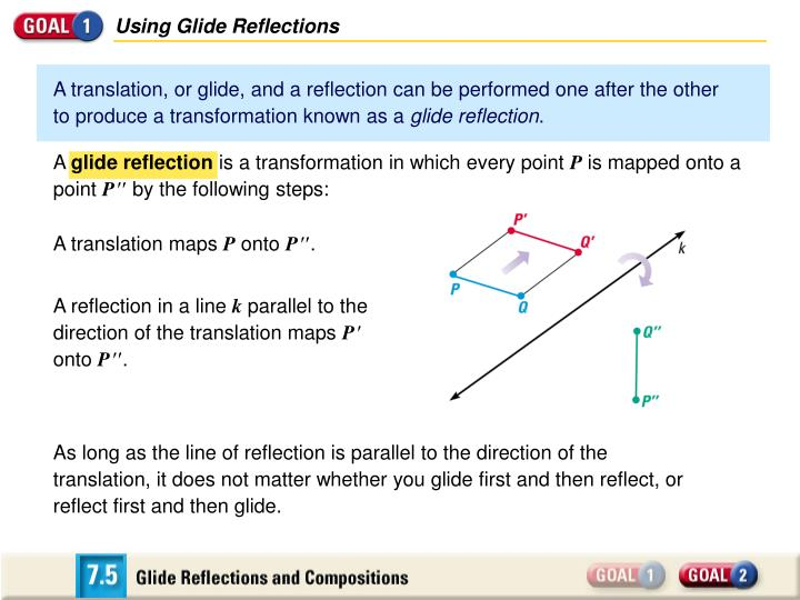 Using Glide Reflections