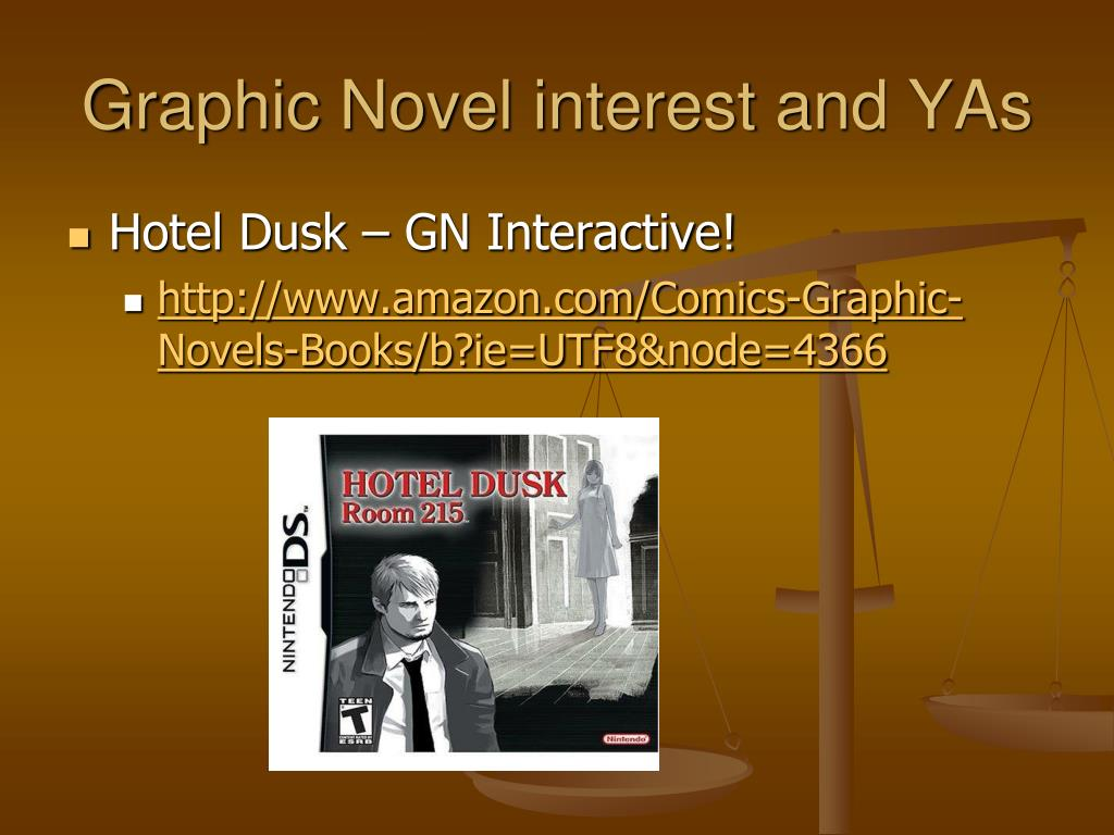 Graphic Novel interest and YAs