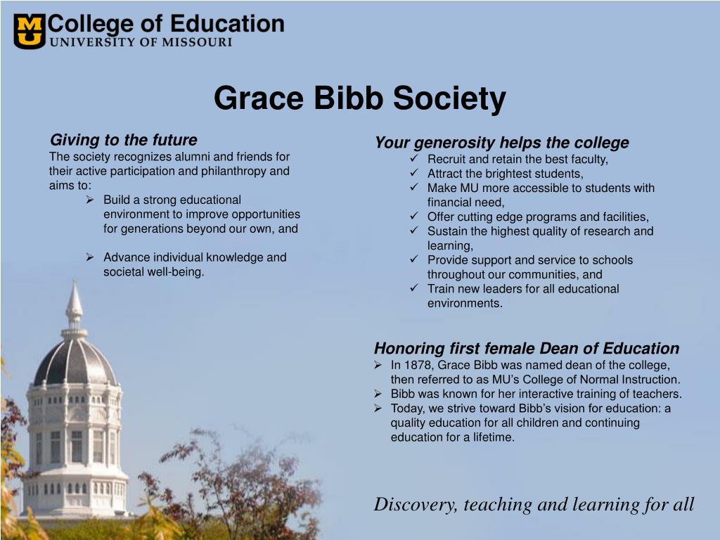 Grace Bibb Society
