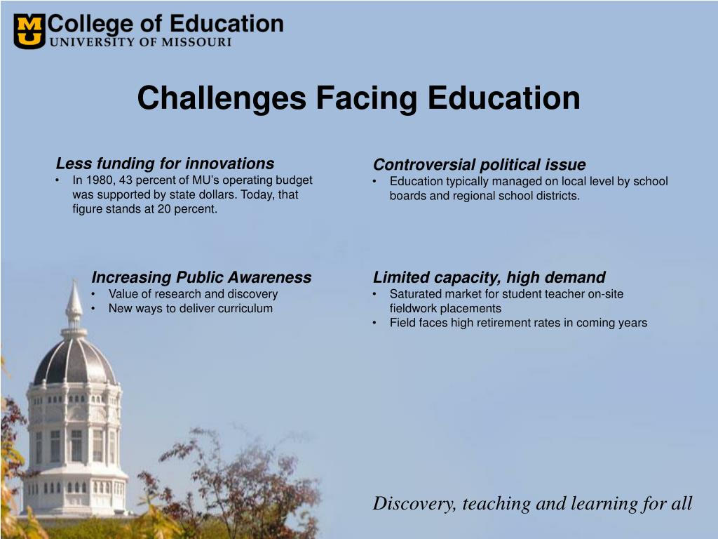 Challenges Facing Education