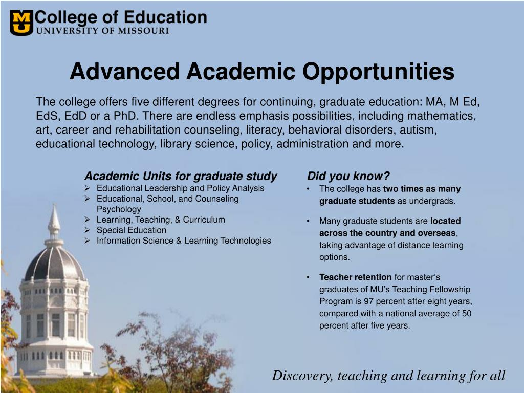 Advanced Academic Opportunities