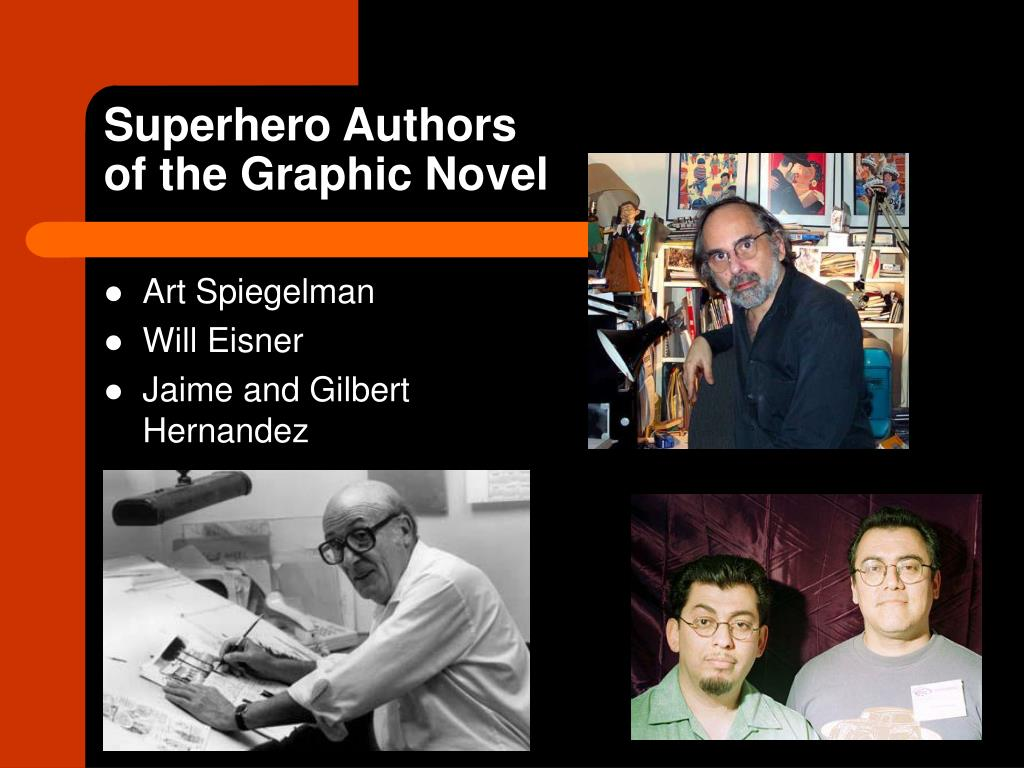 Superhero Authors