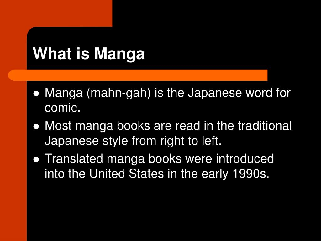 What is Manga