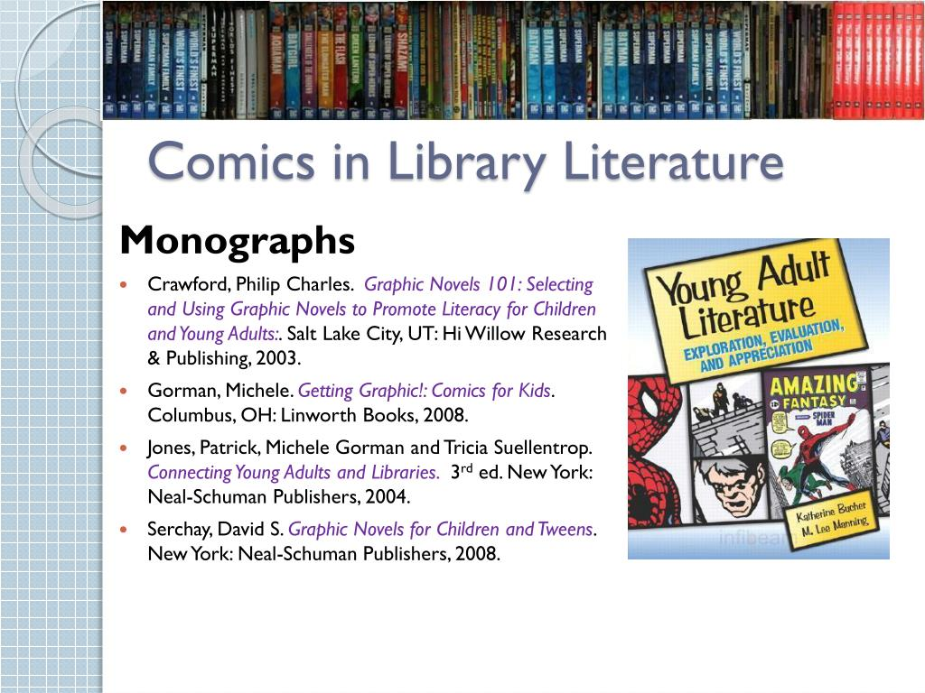 Comics in Library Literature