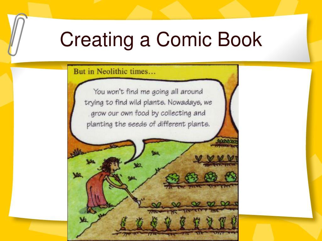 Creating a Comic Book