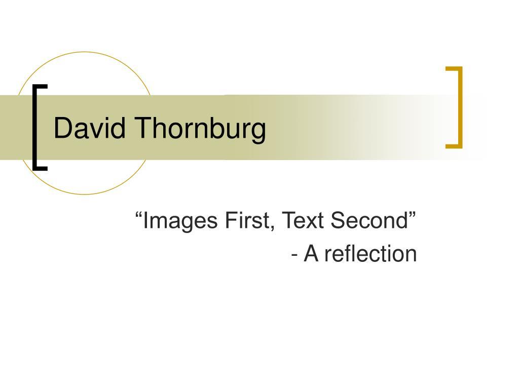 David Thornburg