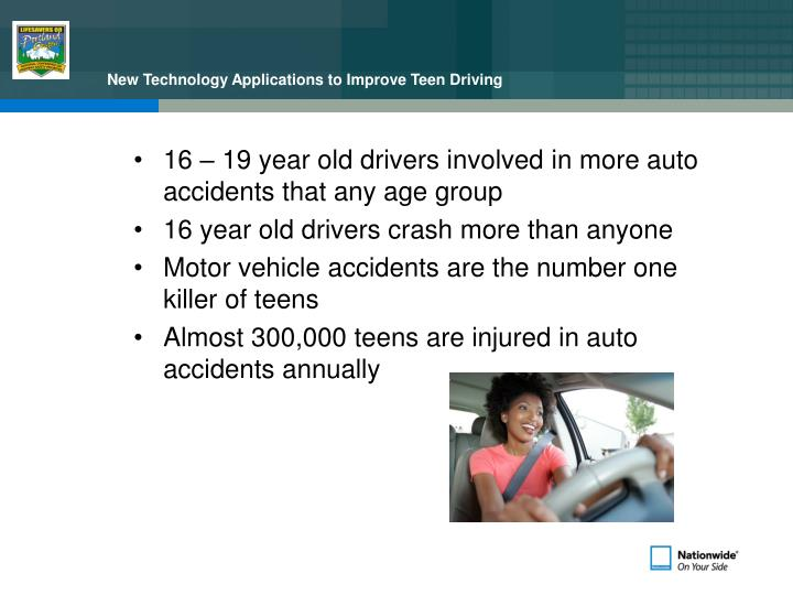 New technology applications to improve teen driving3