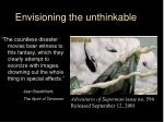 envisioning the unthinkable