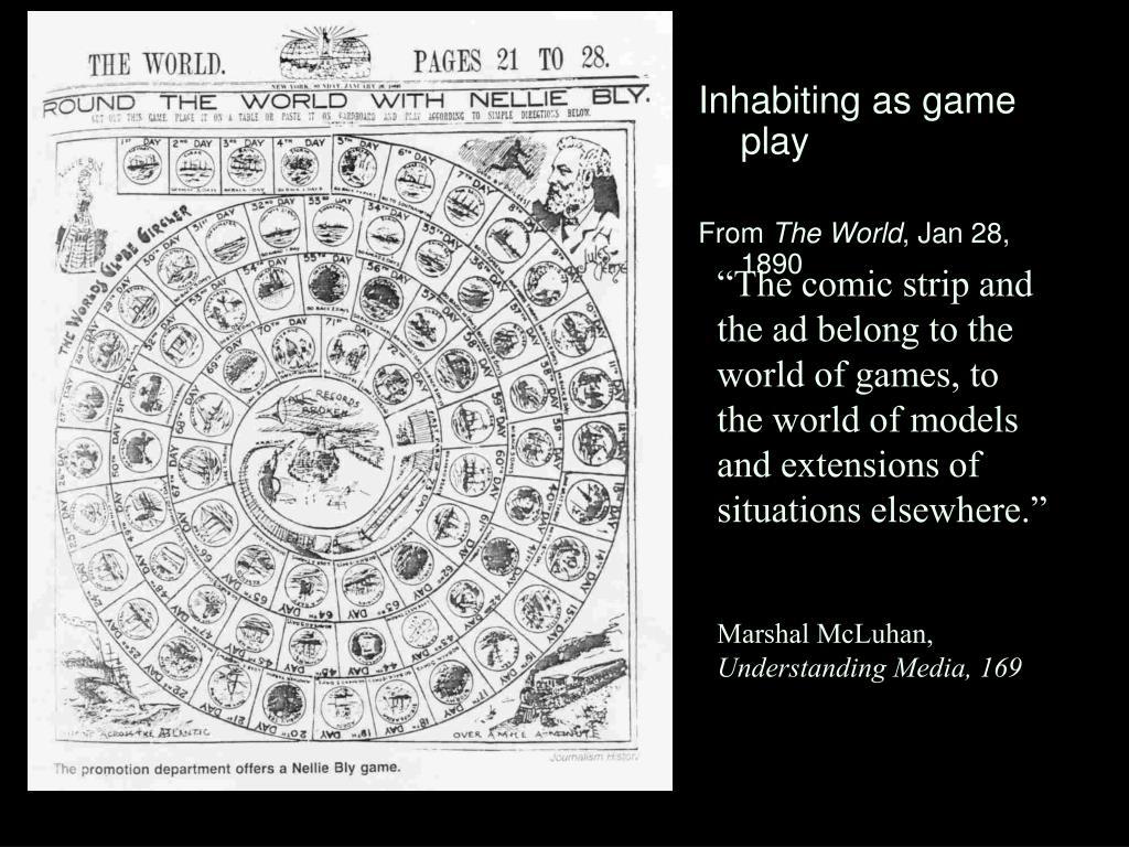 Inhabiting as game play