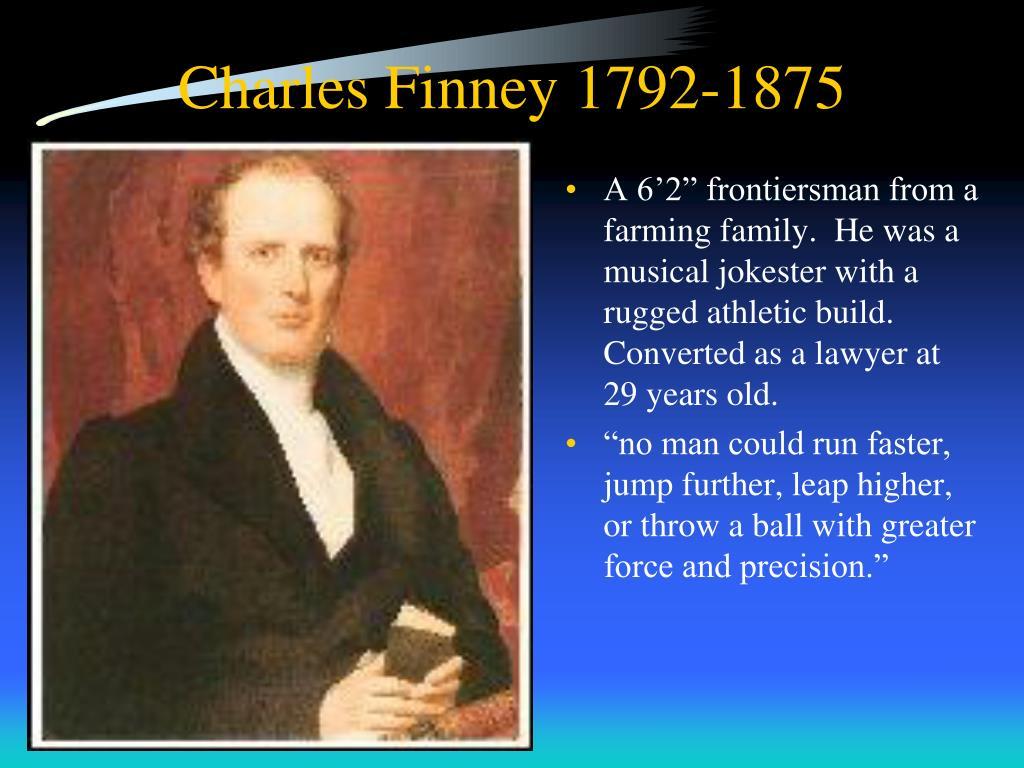 Charles Finney 1792-1875