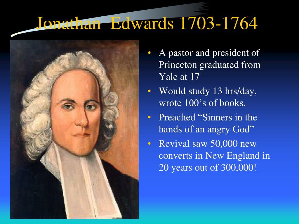 Jonathan  Edwards 1703-1764