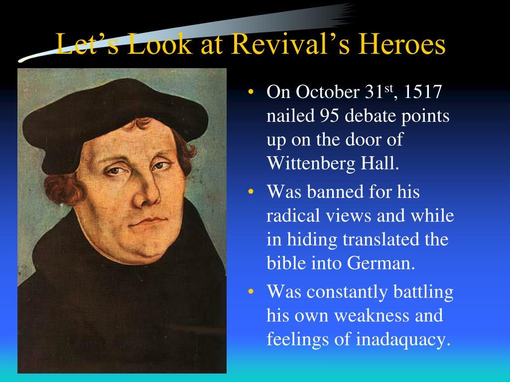 Let's Look at Revival's Heroes