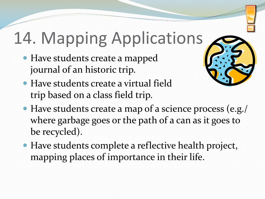 14. Mapping Applications