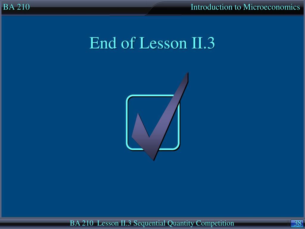 BA 210                                                                            Introduction to Microeconomics