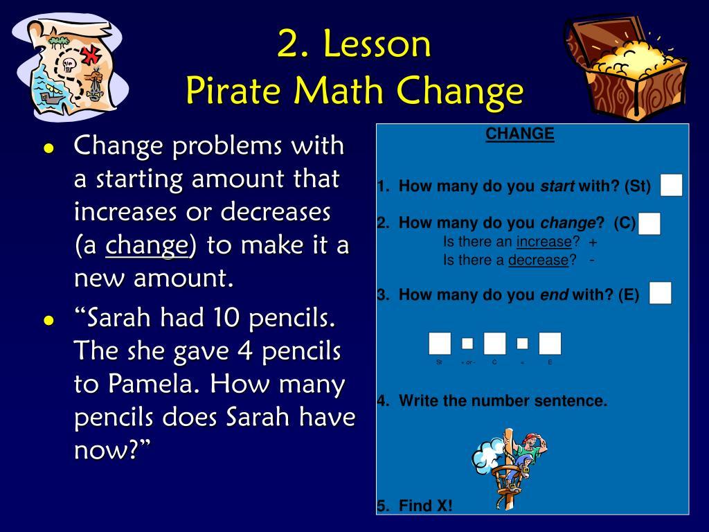 2. Lesson