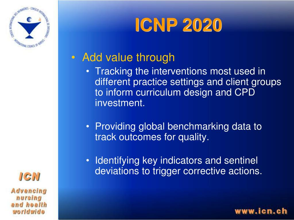 ICNP 2020