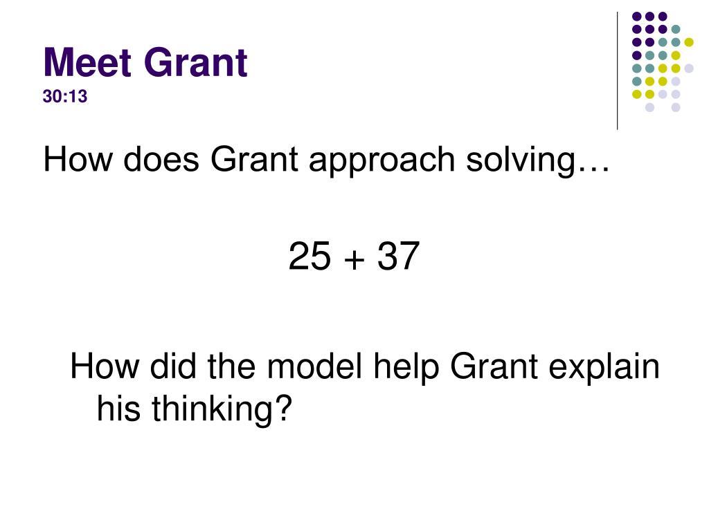 Meet Grant