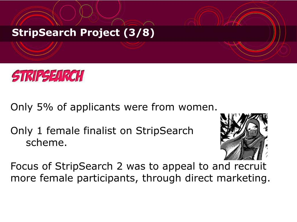 StripSearch Project (3/8)