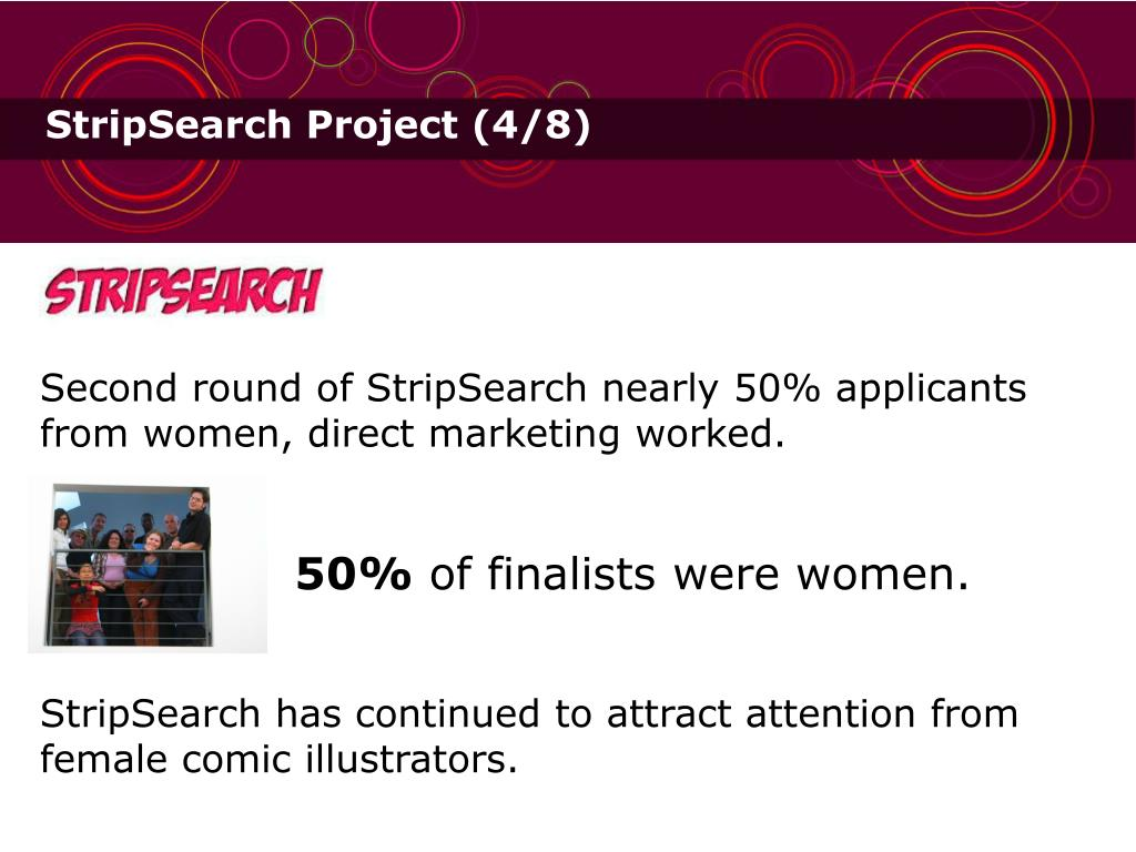 StripSearch Project (4/8)