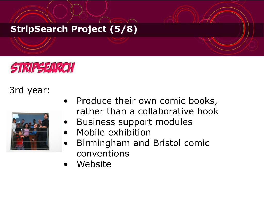 StripSearch Project (5/8)