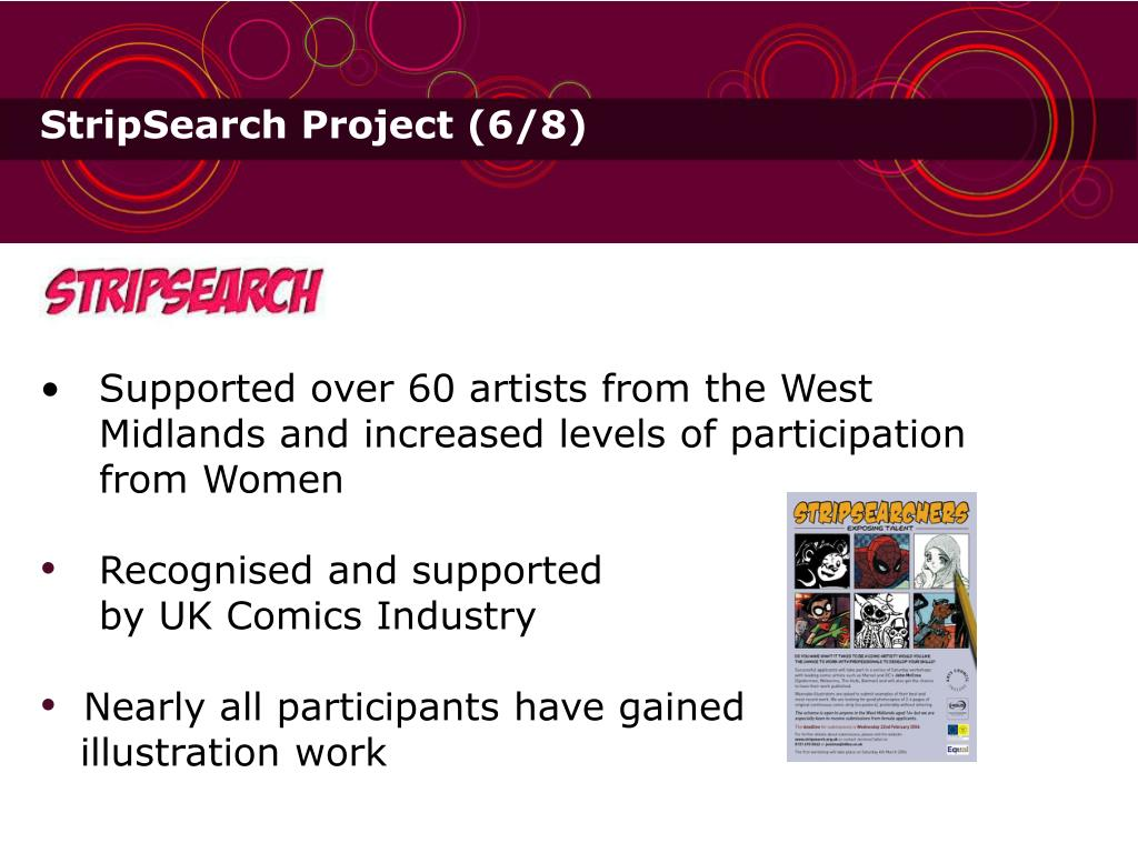 StripSearch Project (6/8)
