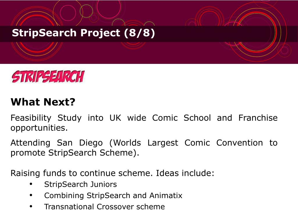 StripSearch Project (8/8)