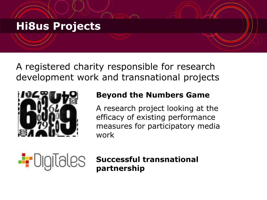Hi8us Projects