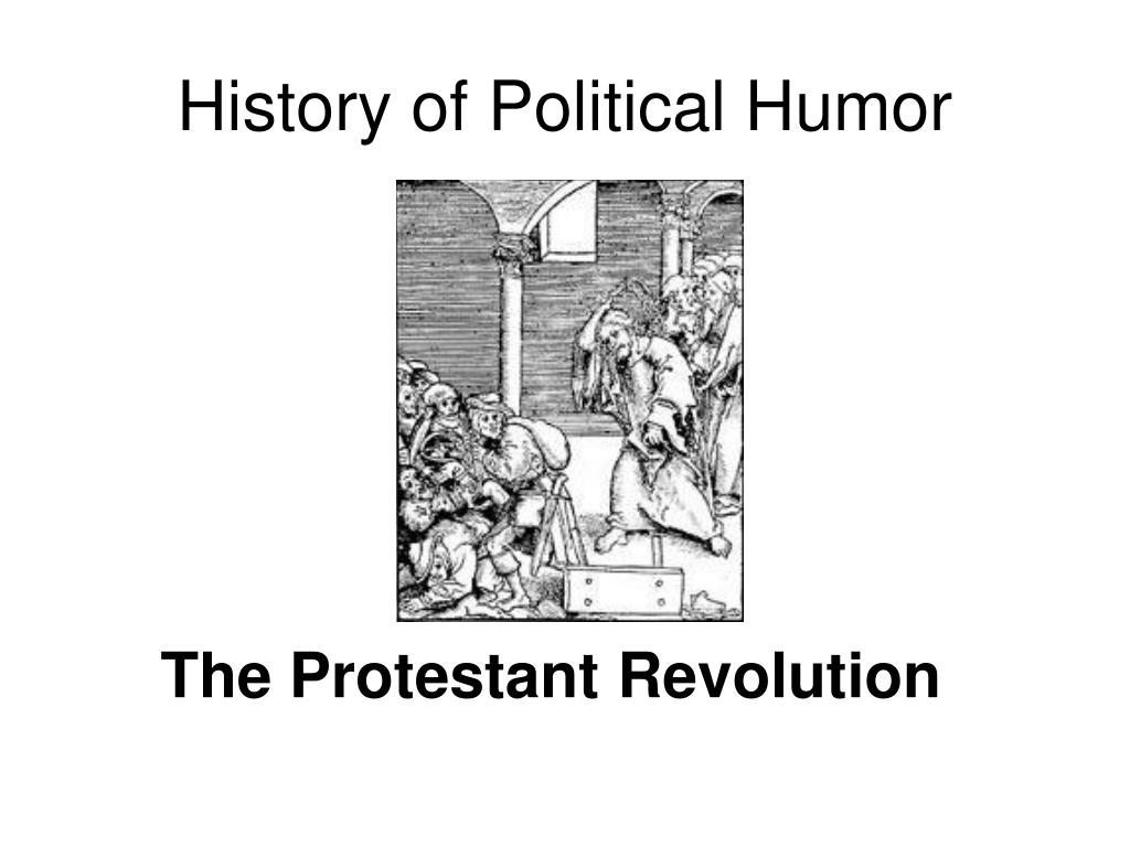 History of Political Humor