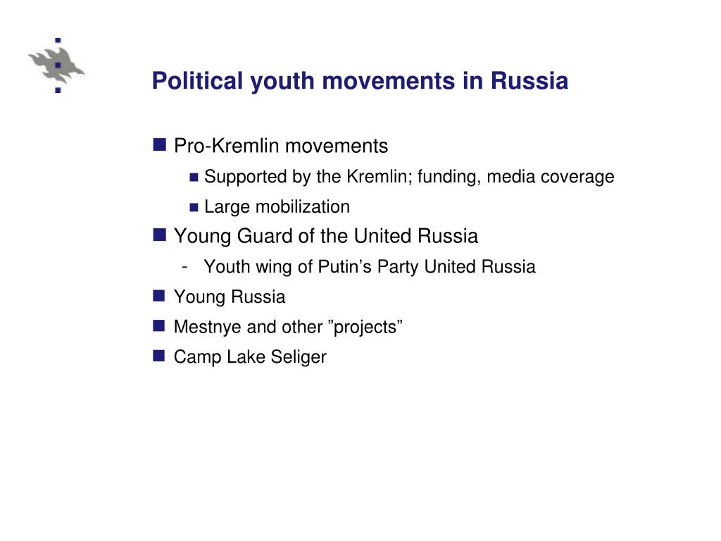 Political youth movements in Russia