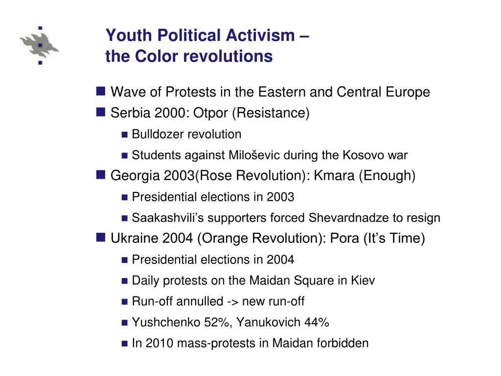 Youth Political Activism –