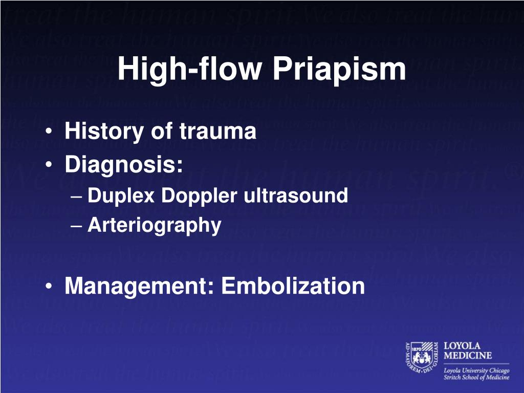High-flow Priapism