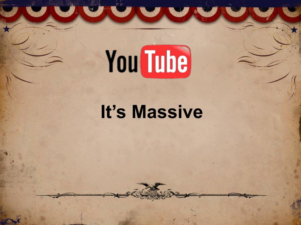 It's Massive