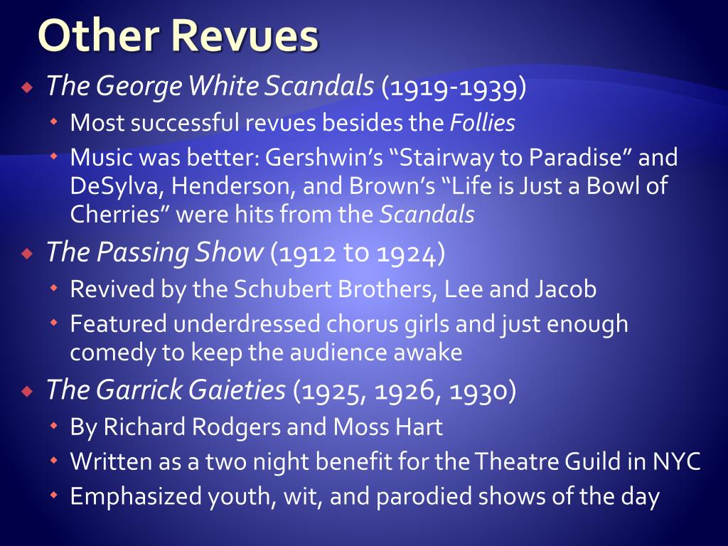 Other Revues