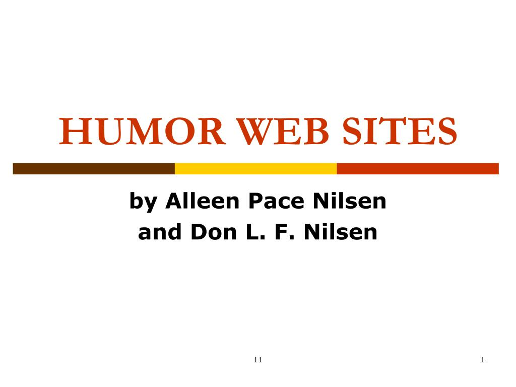 HUMOR WEB SITES