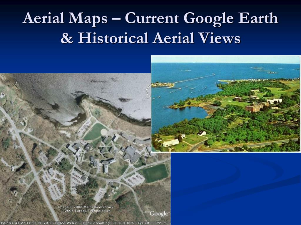 Aerial Maps – Current Google Earth & Historical Aerial Views