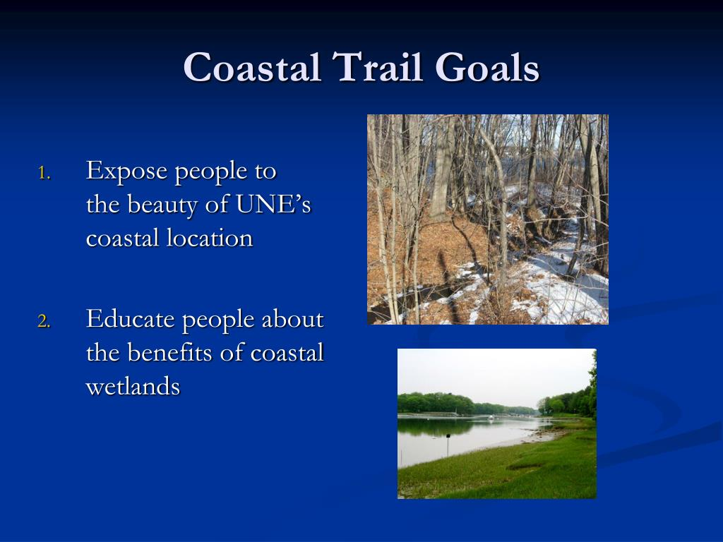 Coastal Trail Goals