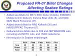 proposed pr 07 billet changes affecting seabee ratings